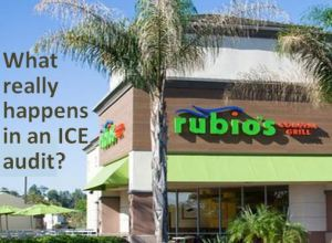 Rubios store with webinar title